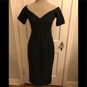 Black Midi Cinq a Sept Dress